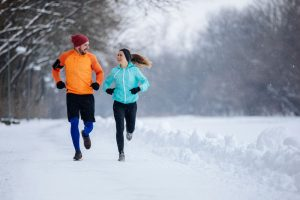 Outdoors Sports in the winter months