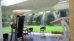 Five Benefits of Having a Misting System for your Outdoors